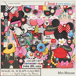 Mrs Mouse (page kit)