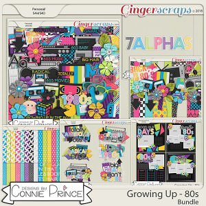 Growing Up 80's - Bundle by Connie Prince