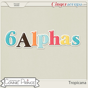 Tropicana - Alpha Pack AddOn by Connie Prince