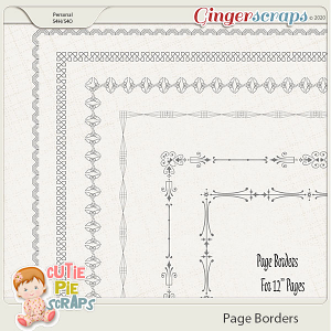 Page Borders 35 By Cutie Pie Scraps