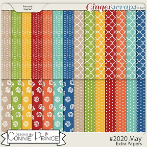 #2020 May - Extra Papers by Connie Prince