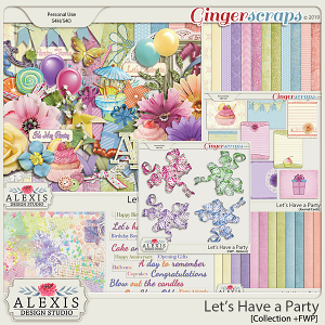Let's Have a Party - Collection +FWP (Limitied Edition)