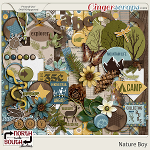 Nature Boy Collab Kit by North Meets South Studios