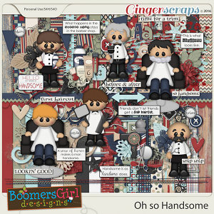 Oh so Handsome by BoomersGirl Designs