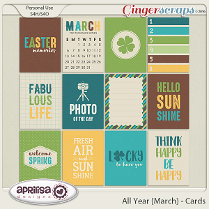 All Year {March} - Cards