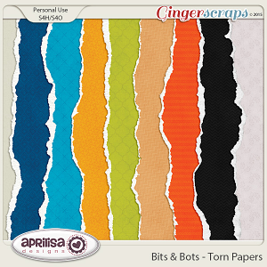 Bits And Bots - Torn Papers