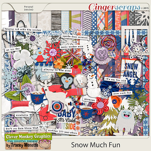 Snow Much Fun by Clever Monkey Graphics