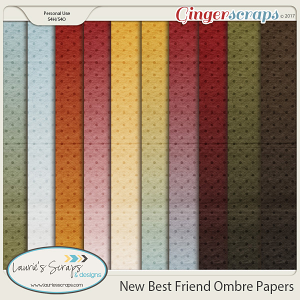 New Best Friend Ombre Papers