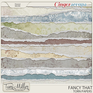 Fancy That Torn Papers by Tami Miller Designs