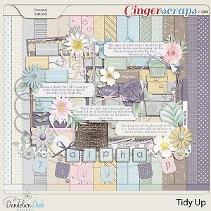 Tidy Up Digital Scrapbook Kit by Dandelion Dust Designs