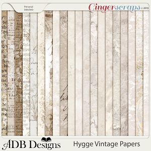 Hygge Pattern Papers by ADB Designs