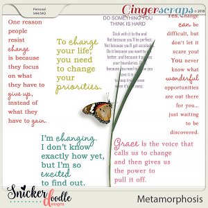 Metamorphosis Word Art by Snickerdoodle Designs