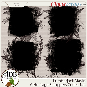 Lumberjack Masks by ADB Designs