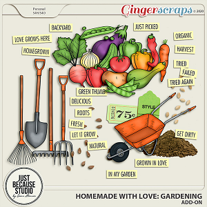 Homemade With Love: Gardening Add-on by JB Studio