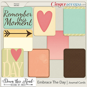 Embrace The Day | Journal Cards