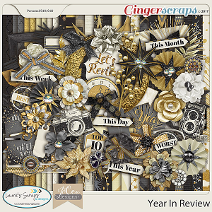 Year in Review Kit by JoCee Designs and Laurie's' Scraps and Designs