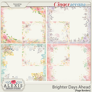 Brighter Days Ahead - Page Borders