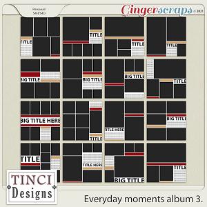 Everyday moments album 3.