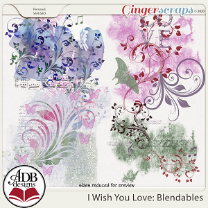 I Wish You Love Blendables by ADB Designs