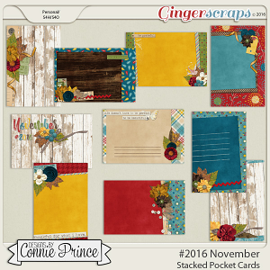 #2016 November - Stacked Pocket Cards
