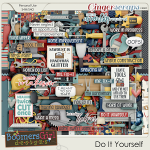 Do It Yourself by BoomersGirl Designs