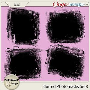 Blurred Photomasks Set8