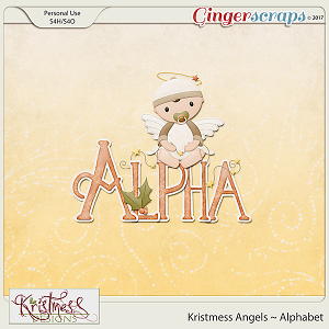 Kristmess Angels Alphabet