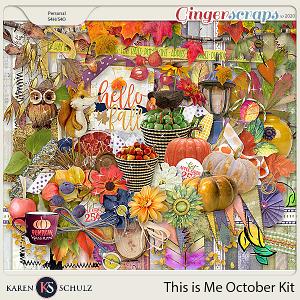 This is Me October Kit by Karen Schulz