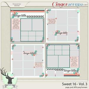 Sweet 16 Vol 3 by Dear Friends Designs