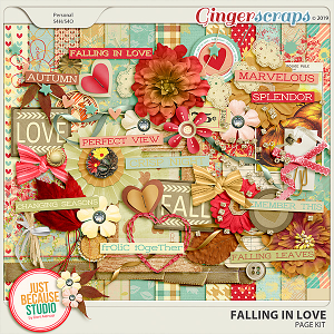 Falling In Love Digital Kit by JB Studio