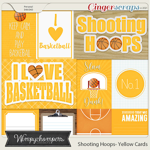 Shooting Hoops- Yellow Cards