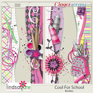 Cool For School Borders by Lindsay Jane