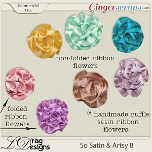 So Satin & Artsy 8 CU by LDragDesigns