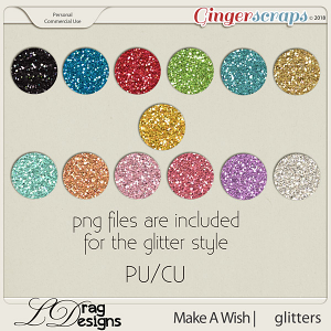 Make A Wish: Glitterstyles by LDrag Designs