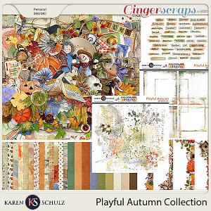 Playful Autumn Collection by Karen Schulzand Linda Cumberland Designs