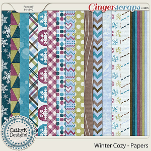 Winter Cozy - Papers