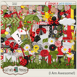 I Am Awesome bundled kit by Scraps N Pieces