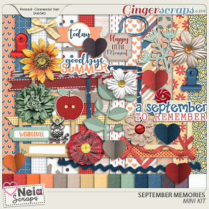 September Memories - Mini Kit - By Neia Scraps