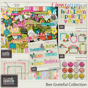 Bee Grateful Collection by Aimee Harrison