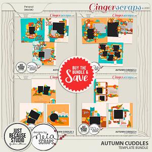Autumn Cuddles Template Bundle by JB Studio and Neia Scraps