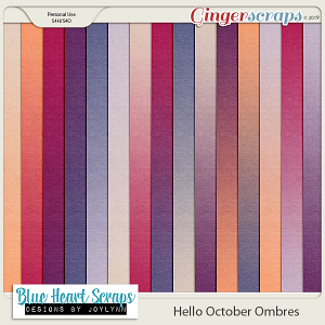 Hello October Ombre Papers
