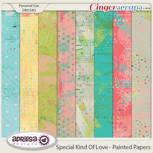 Special Kind Of Love - Painted Papers