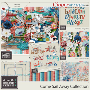 Come Sail Away Collection by Aimee Harrison