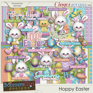 Hoppy Easter by BoomersGirl Designs