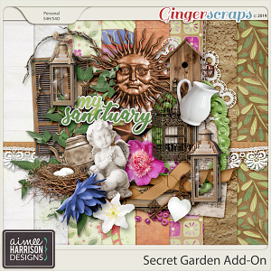 Secret Garden Add-On by Aimee Harrison