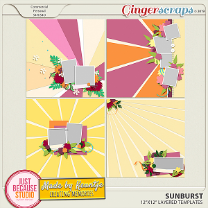 Sunburst Templates by JB Studio and Keuntje