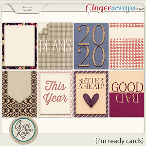 I'm Ready Cards by Chere Kaye Designs