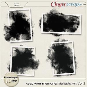 Keep your memories Masks&Frames Vol.3