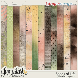 Seeds of Life {Blended Papers} by Jumpstart Designs