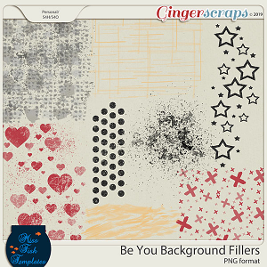 Be You Background Fillers by Miss Fish Templates